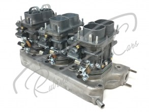 kit_set_engine_weber_40_dcn_6_7_12_14_lancia_flaminia_super_sport_zagato_826_air_filter_fispa_manifold_carburetors_carburatori_motore_collettore_2