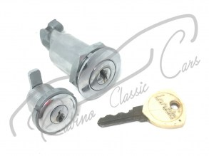 set_pariglio_trunk_rear_lock_cup_fuel_tappo_benzina_serrature_key_baule_lancia_flaminia_fulvia_2500_1