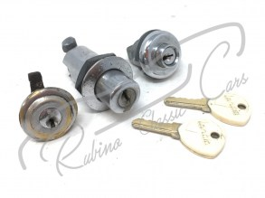 set_pariglio_trunk_rear_lock_cup_fuel_tappo_benzina_serrature_key_baule_lancia_fulvia_1